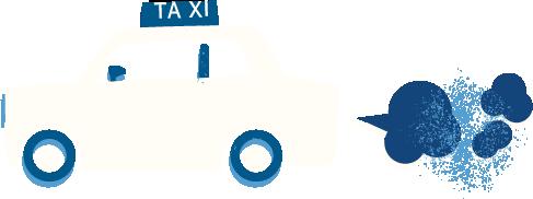 taxi-white